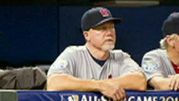 McGwire announced as Dodgers' hitting coach