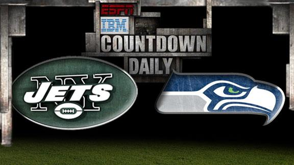 Video - Countdown Daily Prediction: Jets-Seahawks