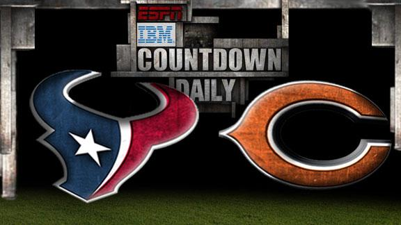 Video - Countdown Daily Prediction: Texans-Bears