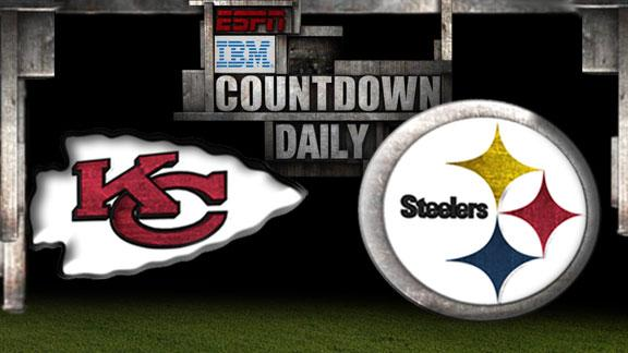 Video - Countdown Daily Prediction: Chiefs-Steelers