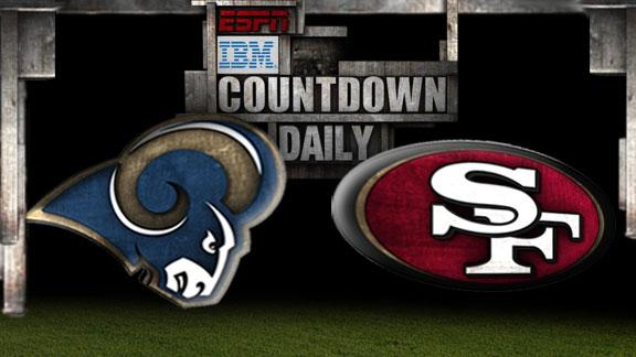 Video - Countdown Daily Prediction: Rams-49ers