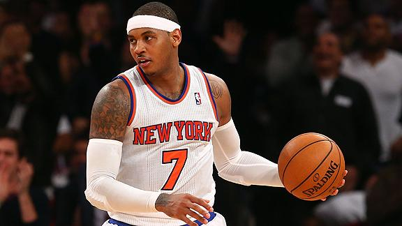 Anthony, Knicks top Mavs to remain unbeaten