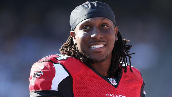 Video - Roddy White Thinks Falcons Can Go Undefeated