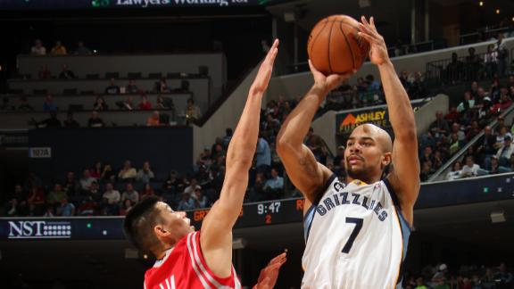 Randolph, Gay lead Grizzlies to 4th straight win