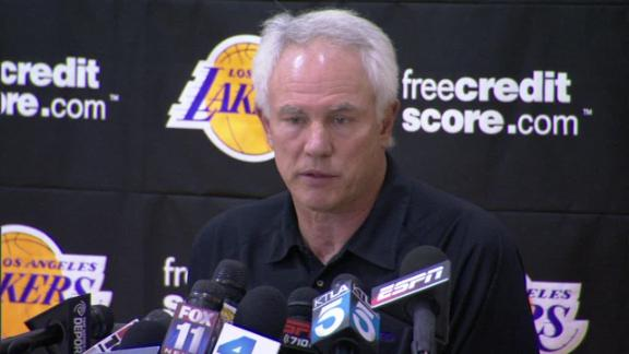 Jackson, D'Antoni on Lakers' rad