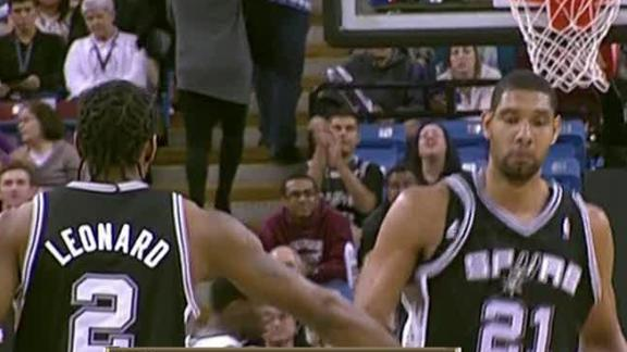 Video - Spurs Too Much For Kings