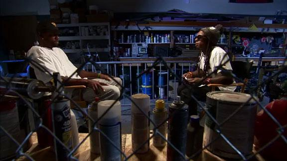 Lil Wayne sits down with Randy Moss