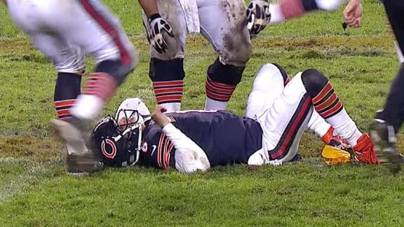 Video - Cutler Suffers Concussion In Loss To Texans