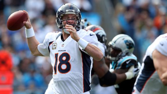 Video - Peyton Ties Marino In Rout Of Panthers