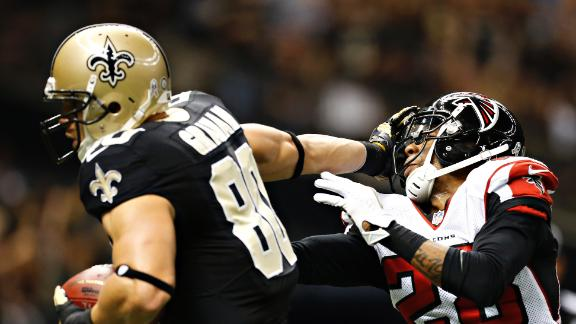 Video - Saints End Falcons' Perfect Season