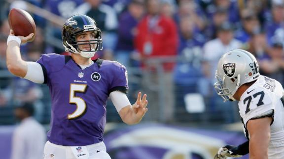 Wrap-up: Ravens 55, Raiders 20