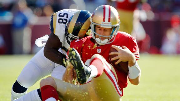 Video - Alex Smith Injured In Rams-49ers Tie