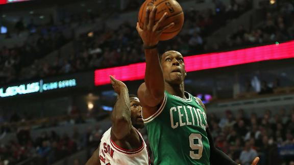 Rondo's near triple-double lifts Celts over Bulls