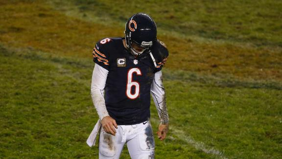Lovie: Bears cautious with concussed Cutler