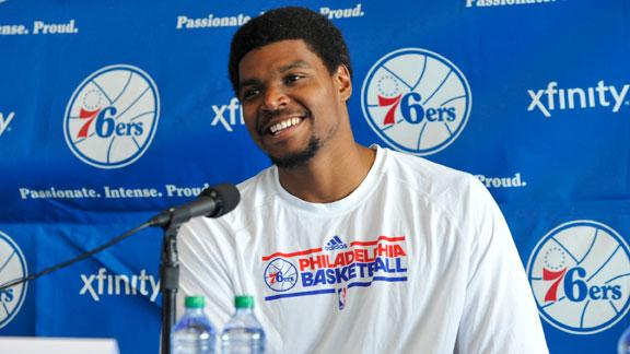Philadelphia 76ers' Andrew Bynum out 5 more weeks for knee inju…