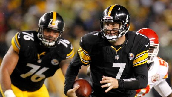 Video - Roethlisberger's Shoulder Sprain Could Be Significant