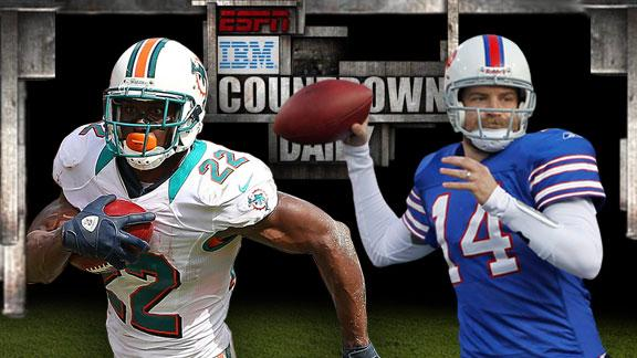 Five things to watch: Dolphins-Bills