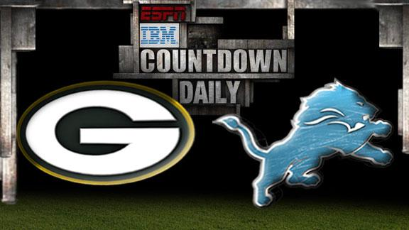 Video - Countdown Daily Prediction: Packers-Lions