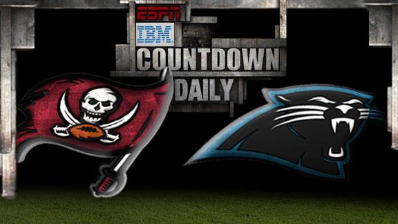 Video - Countdown Daily Prediction: Buccaneers-Panthers