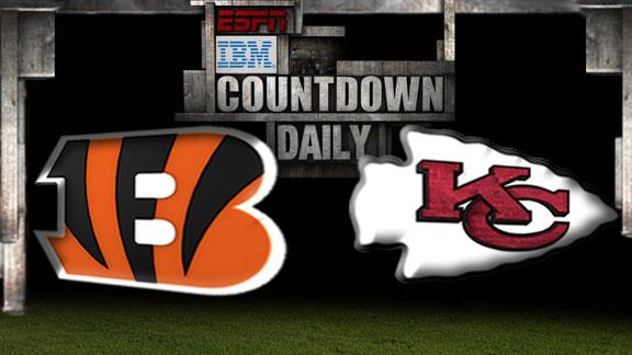 Video - Countdown Daily Prediction: Bengals-Chiefs