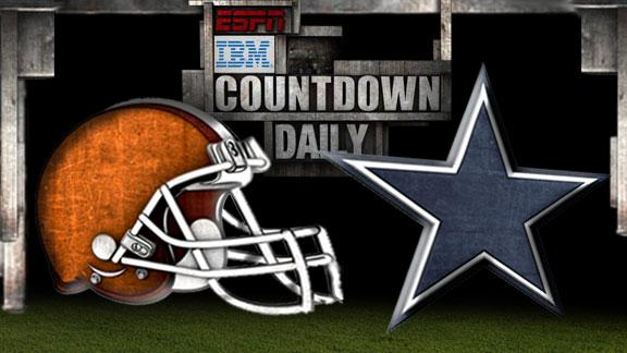 Video - Countdown Daily Prediction: Browns-Cowboys