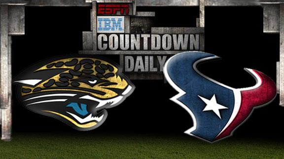 Video - Countdown Daily Prediction: Jaguars-Texans