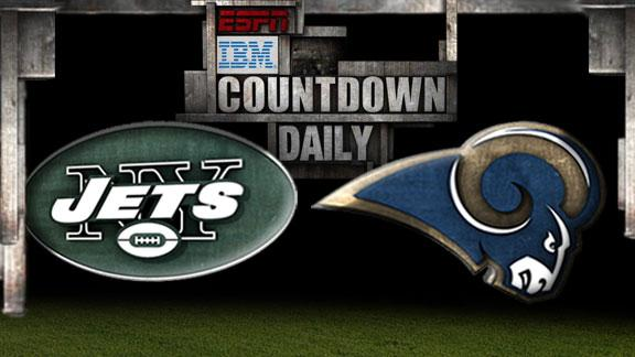 Video - Countdown Daily Prediction: Jets-Rams