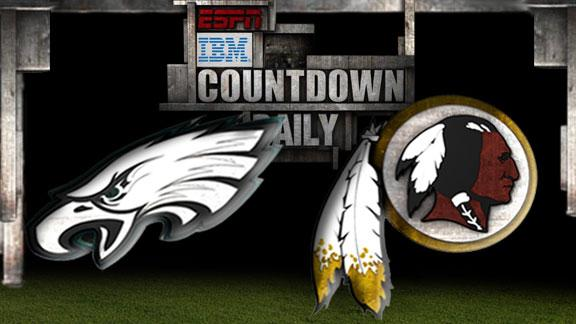 Video - Countdown Daily Prediction: Eagles-Redskins