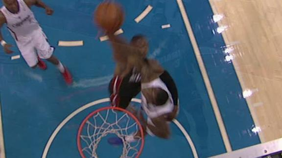 Video - Wade Stuffed At The Rim