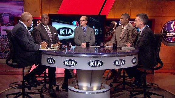 Video - Magic Johnson Questions Lakers Ownership