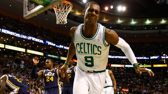 Pierce's last-minute FTs push Celtics past Jazz