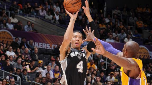 Video - Spurs Hold Off Lakers