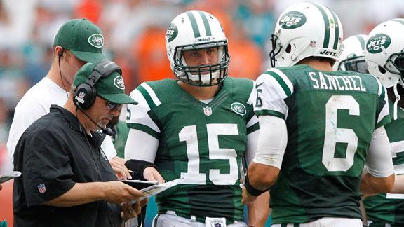 Report: Jets teammates vote against Tebow