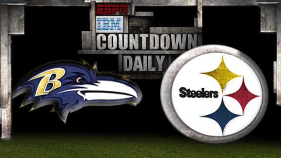 Video - Countdown Daily Prediction: Ravens-Steelers