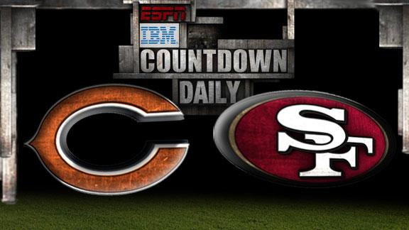 Video - Countdown Daily Prediction: Bears-49ers