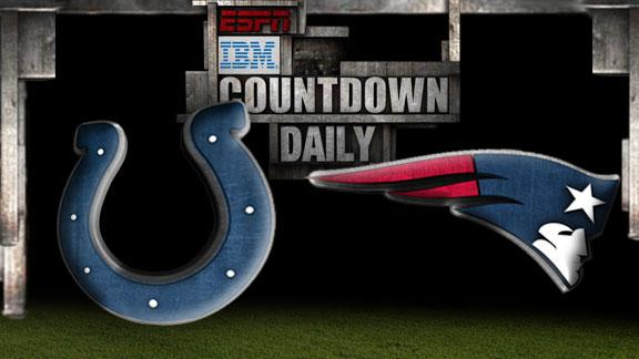Video - Countdown Daily Prediction: Colts-Patriots