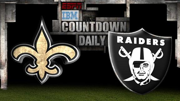 Video - Countdown Daily Prediction: Saints-Raiders