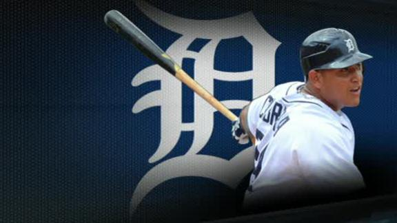 Video - Miguel Cabrera On Winning AL MVP