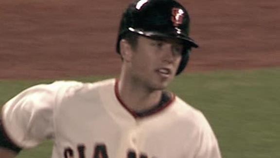 Video - Buster Posey Named NL MVP