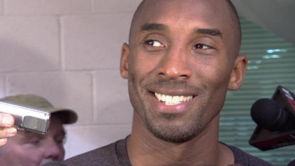 Video - Kobe Bryant On The First Practice With Mike D'Antoni