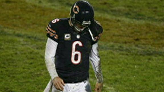 Bears' Cutler (concussion) doesn't practice