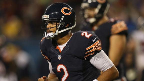 Cutler won't play versus 49ers; Campbell to start