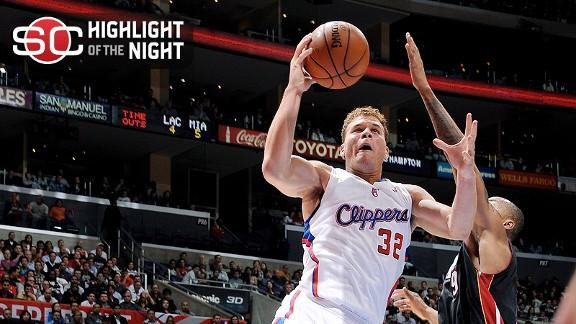Griffin, Paul power Clippers' romp over Miami