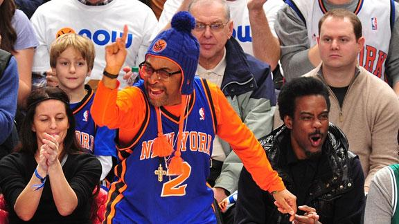 Video - Spike Lee Sees Unselfishness In Knicks