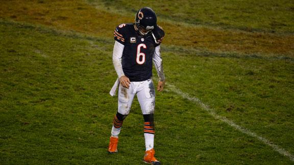 Video - Jay Cutler Out Against 49ers