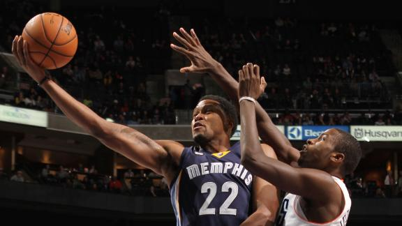Grizzlies down Bobcats for 8th straight win
