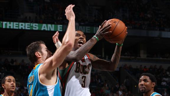 Video - Jennings, Bucks Handle Hornets