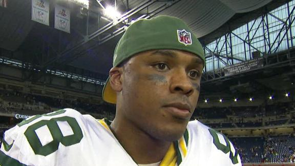 Video - Finley On Packers' Road Win