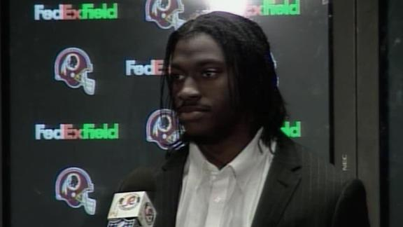 Video - RG3 Guides Redskins To Biggest Win Since 2007
