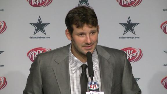 Video - Romo Looking To Play Better Going Forward